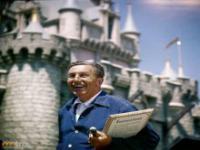 Fotografie z otwarcia Disneylandu