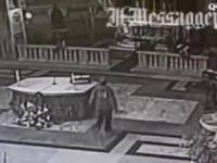 Muzułmański uchodzca demoluje kościół