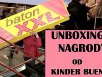 Unboxing nagrody od Kinder Bueno.