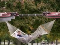 Latający dron - hamak