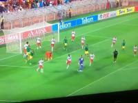 Nieprawdopodobna akcja podczas meczu Baroka vs Orlando Pirates w RPA
