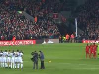 Chyba nigdy wcześniej nie słyszałęm takiej ciczy Liverpool vs Leeds United