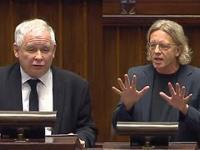 Jarosław Kaczyński zgasił posła Nowoczesnej