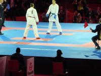 Jedna z najkrwawszych walk w histori kobiecych Mistrzostw Swiata w karate
