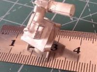 Mały jednocylindrowy silnik z papieru