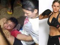 Zawodniczka MMA napadnięta na ulicy - złodziej błaga o litość