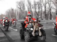 Mikołaje na motocyklach -Gdańsk 2016.