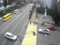 Mocny wypadek motocyklisty