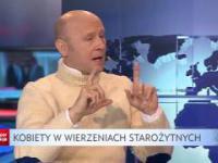Pieczyński o mordowaniu kobiet przez Kościół i czarownicach. Aktor całkowicie odleciał