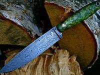 Tworzenie noża z damastu wykutego przez Aleca Steela