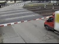 Na przejeździe kolejowym w Czechach