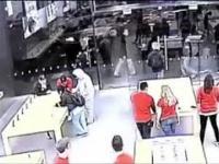 Ekspresowa kradzież w salonie Apple