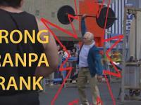Przebrany starszy pan trolluje w publicznej siłowni