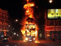Autobusy w ogniu