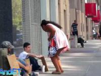 Bezdomny, którego każdy omiijał...