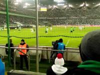 Legia Warszawa - Górnik Łęczna, zderzenie Michała Kopczyńskiego z Gersonem (18.12.2016)