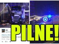 ZAMACH TERRORYSTYCZNY podczas Weihnachtsmarktu w Berlinie? Ciężarówka wjechała w tłum! | PrawicowyInternet.pl