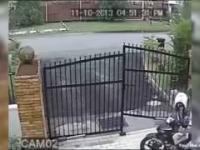 Nieudana próba kradzieży motocykla