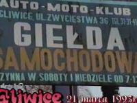 GLIWICE-Giełda samochodowa 1993
