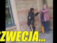 Afrykańczycy atakują bezbronną staruszkę w Szwecji!
