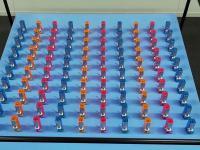 Synchronizacja 100 metronomów