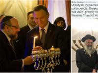 Dlaczego Prezydent oraz parlamentarzyści obchodzą chanukę? Ilu jest w Polsce Żydów?