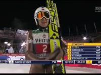Kamil Stoch - Drugie miejsce w I zawodach Turnieju Czterech Skoczni