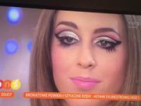 Pytanie na śniadanie - makijaż Sylwester 2016 TVP