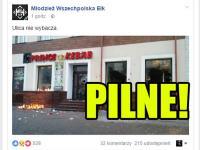 Imigranci zasztyletowali Polaka w Ełku! Polacy demolują lokal z kebabem!