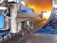 Produkcja rur o dużych średnicach
