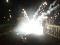 Wypadek z fajerwerkami
