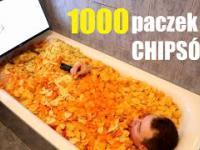 Otworzyli 1000 (tysiąc) paczek CHIPSÓW