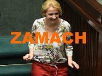 Zamach na posłankę Scheuring-Wielgus w Sejmie