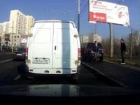 Jazda samochodem po chodniku
