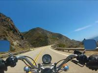 Jazda Harleyem po Pacific Coast Highway w Californii