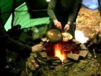 Jak zrobić smażonkę, czyli weekend spędzony w leśnym tipi :)