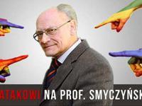 """""""Wyborcza"""" i środowisko LGBT zaatakowały prof. Smyczyńskiego za stwierdzenie, że """"fundamentem rodziny jest para składająca się z mężczyzny i kobiety"""""""