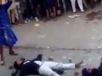 Drobna pomyłka podczas pokazu Sikhów