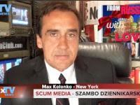Scum Media Dziennikarskie szambo TVN CNN - Max Kolonko Mówię Jak Jest
