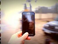 AdBuster - Jeep vs Samsung Galaxy XCover 3 (próba distroju)