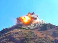 JDAM trafia w pozycje talibów