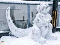 Japończycy nawet ze śniegu potrafią zrobić coś wyjątkowego