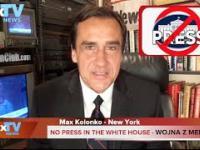 Trump's War with Scum Media - Wojna Trumpa z mediami - Max Kolonko Mówię Jak Jest MaxTV
