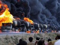 Płonące ciężarówki 2