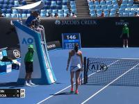 Najbardziej kuriozalny punkt w Australian Open