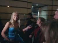 Blondynka do protestujących: jestem mężczyzną