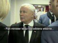 Ucho prezesa w praktyce - czyli poseł kaczyński vs minister