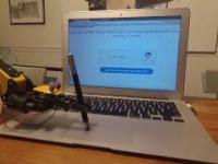 Robot kontra captcha -
