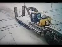 Kolizja pociągu z ciężarówką