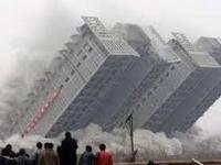 TOP 20 Wyburzeń budynków za pomocą materiałów wybuchowych
